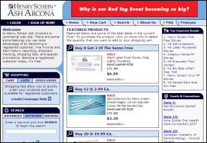 Henry Schein Ash Arcona Dental Supplies